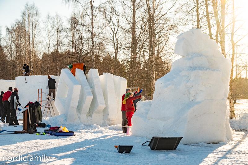 Snowfest in Nallikari Sympo
