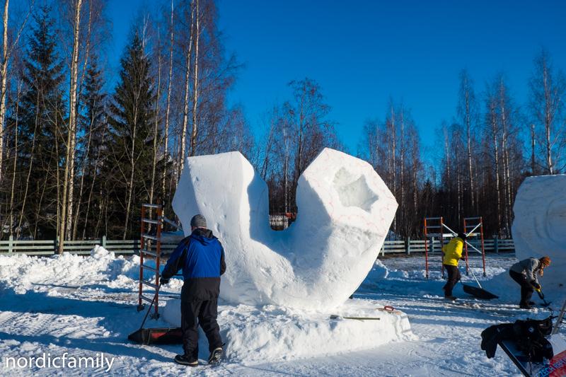 Snowfest in Nallikari  Tschech Team