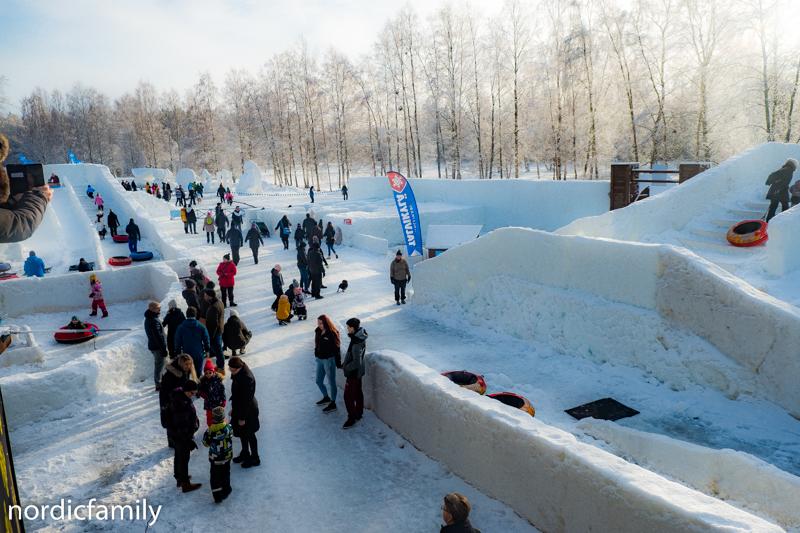Snowfest Wintervillage Nallikari