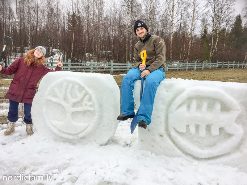 Snowfest in Nallikari Workshop