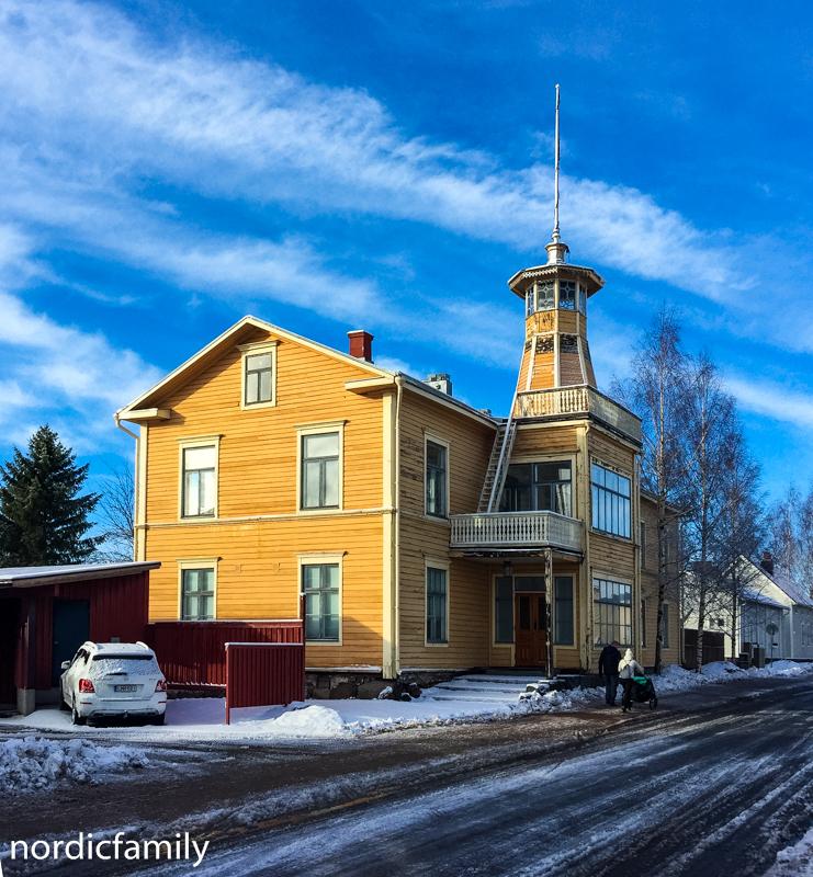 Oulu im Winter