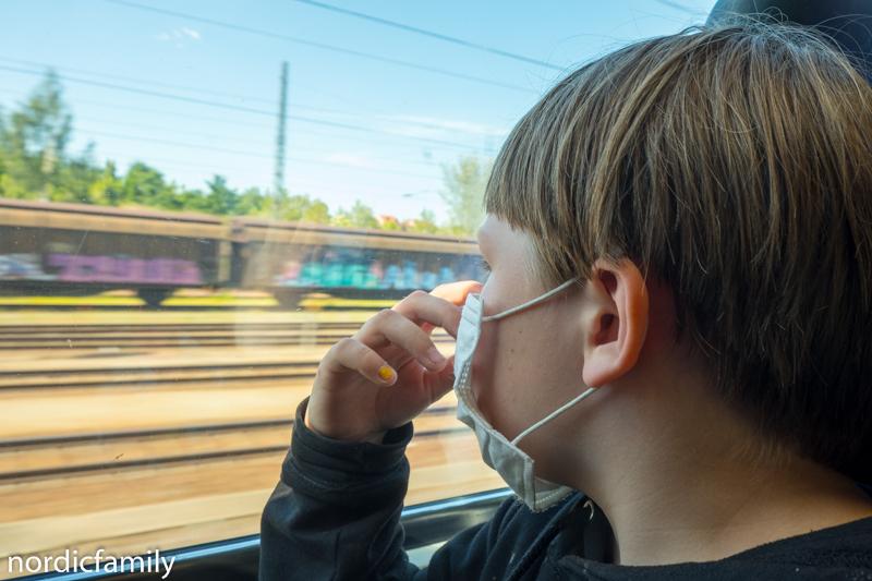 Havelradweg mit Kindern und eine Bahnfahrt