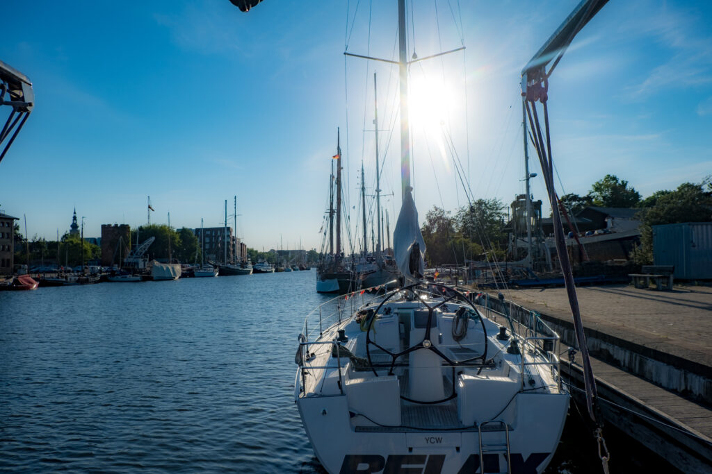 Hiddensee segeln Greifswald