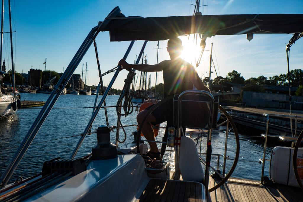 Hiddensee segeln Greifswald Polaris