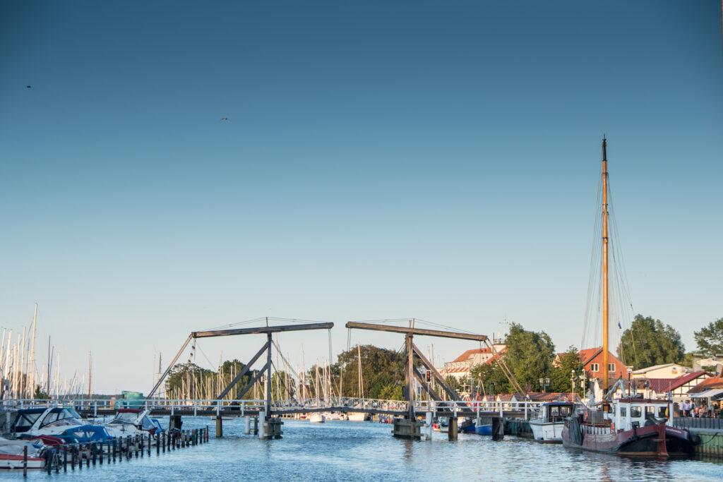 Hiddensee segeln Greifswald Wieck