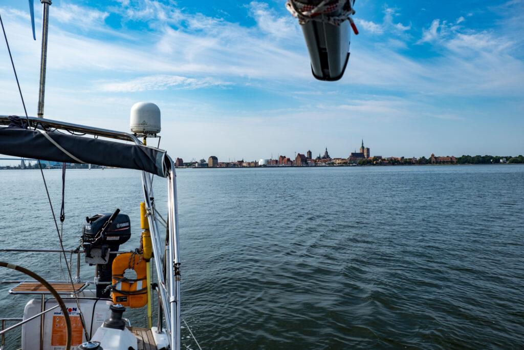 Hiddensee segeln Stralsund