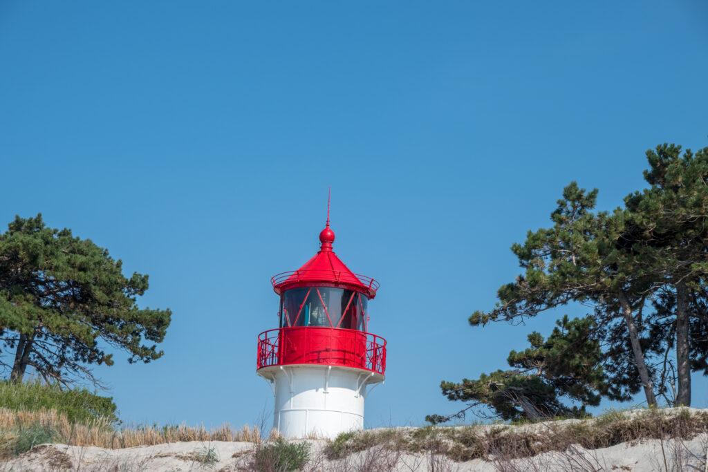 Segeln Hiddensee Leuchtturm Gellen