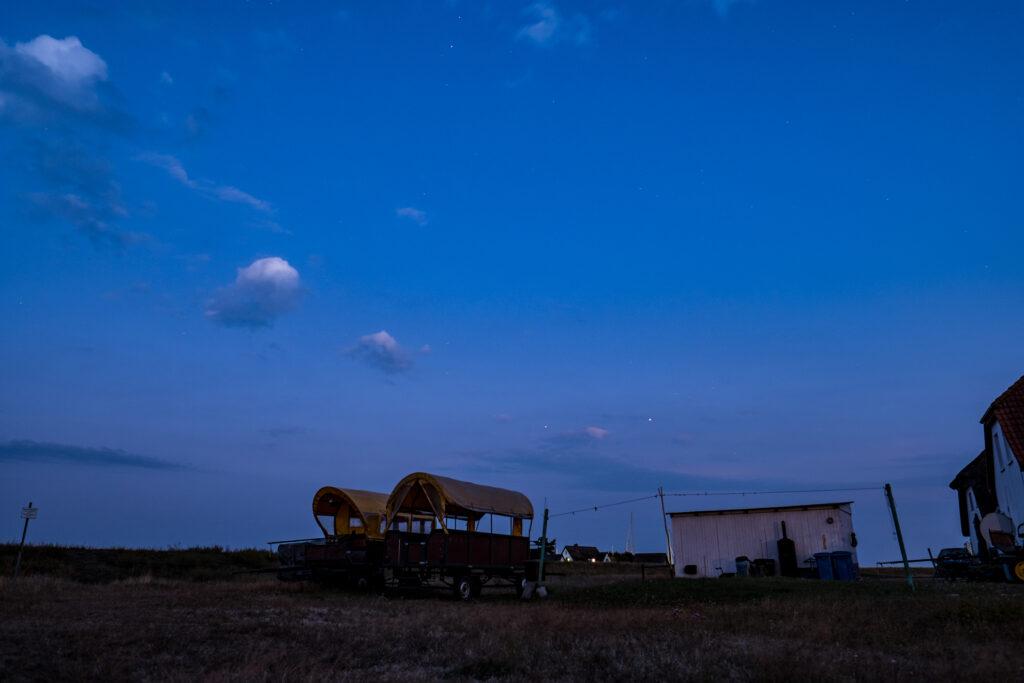 Segeln Hiddensee Nacht