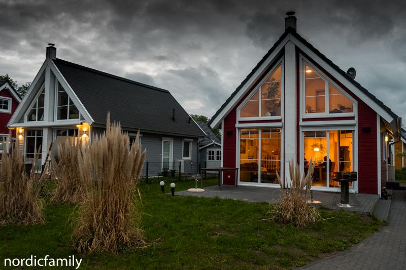 Skandinavisches Ferienhaus im Hafendorf Zerpenschleuse im Barnim