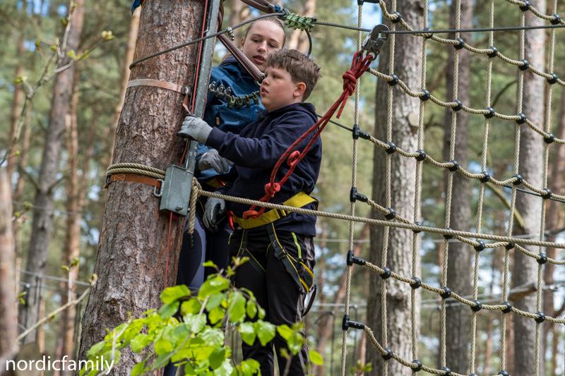 Klettern im Barnim mit Kindern