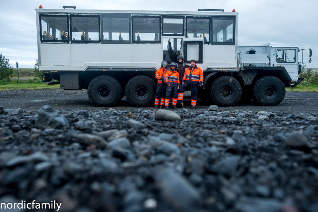 Icelandic Mountain Guides Truck