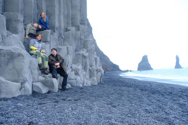 Nordicfamily Black Beach