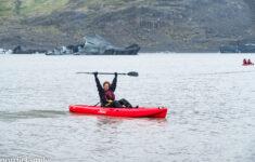Icelandic Mountain Guide Kayaking