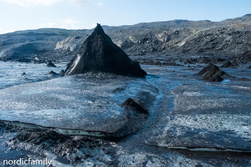 Gletscher in Island - Black Forest