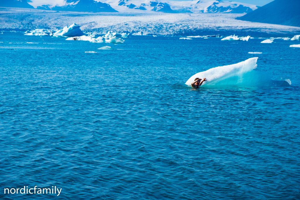 Naturwunder im Süden Islands - Gletscherlagune