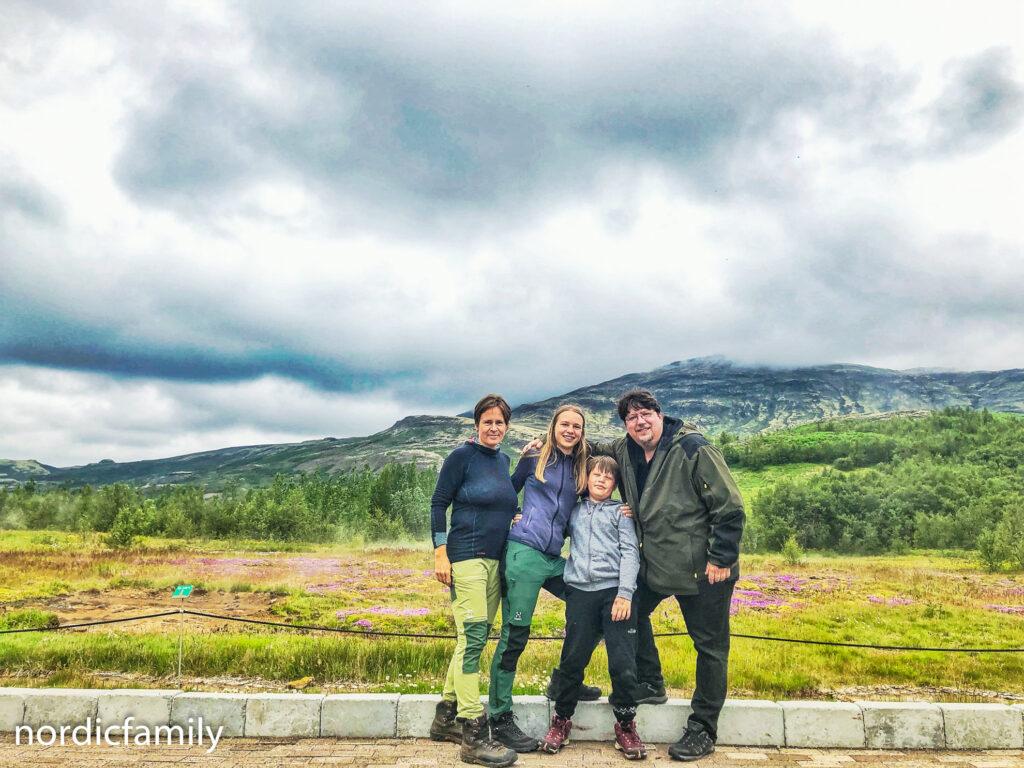 nordicfamily im Norden Islands
